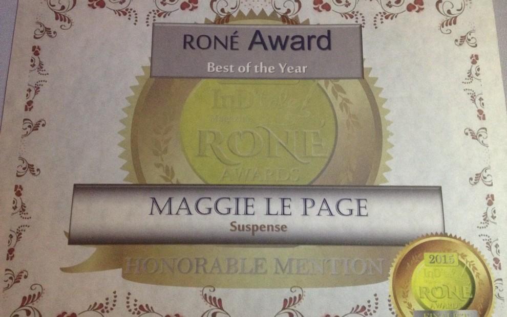 2015 RONE Award